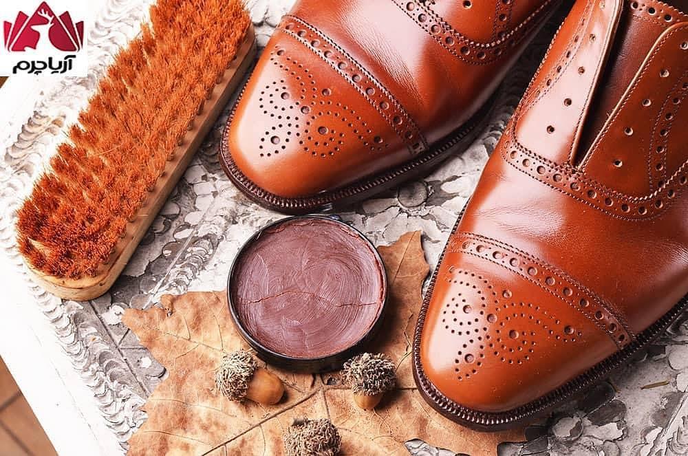 ⁉️چگونه کفشهای چرم نوی خود