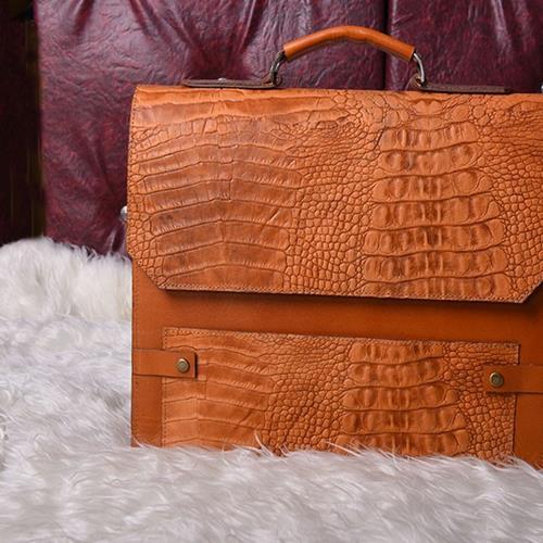 کیف چرمی اداری مدل زرین یک کیف