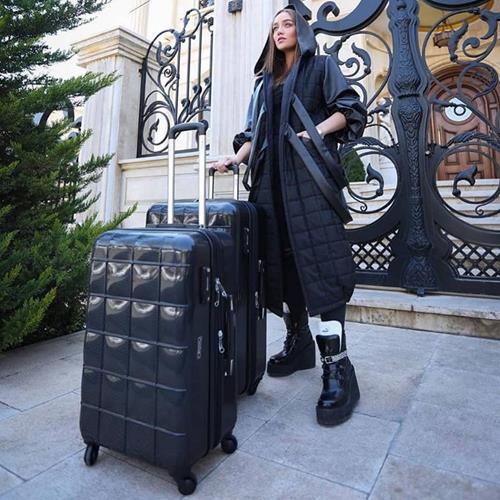 چمدان اکولاک مدل اسکوار🔶. 🔸