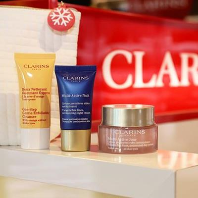 Clarins Smoothing Essentials