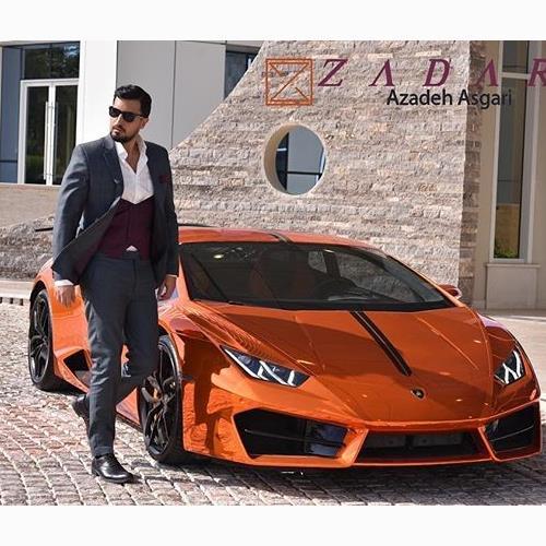 زاداری طراح لباس آقای مهرداد ص