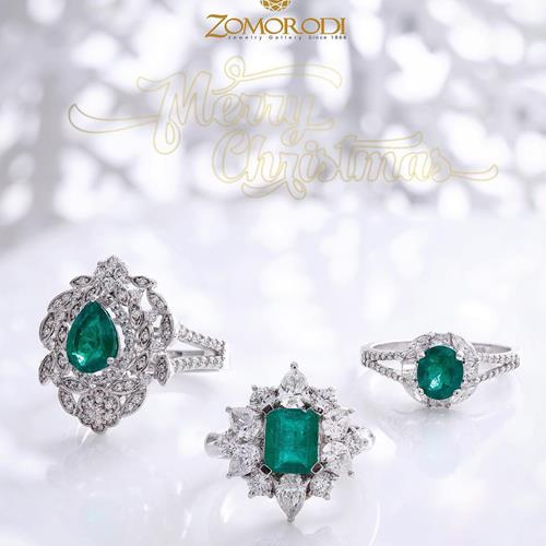 #colomban #emerald #rings comb