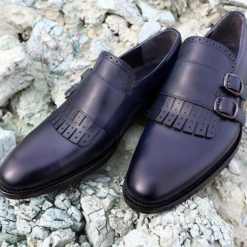 کفش چرم کلاسیک زاگروتی.  #