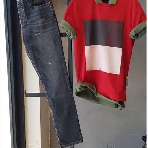 شلوار جین مردانهSlim fit کد