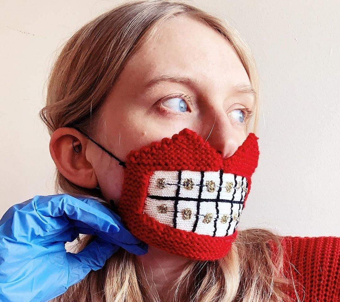 کرونا و ماسک های عجیب