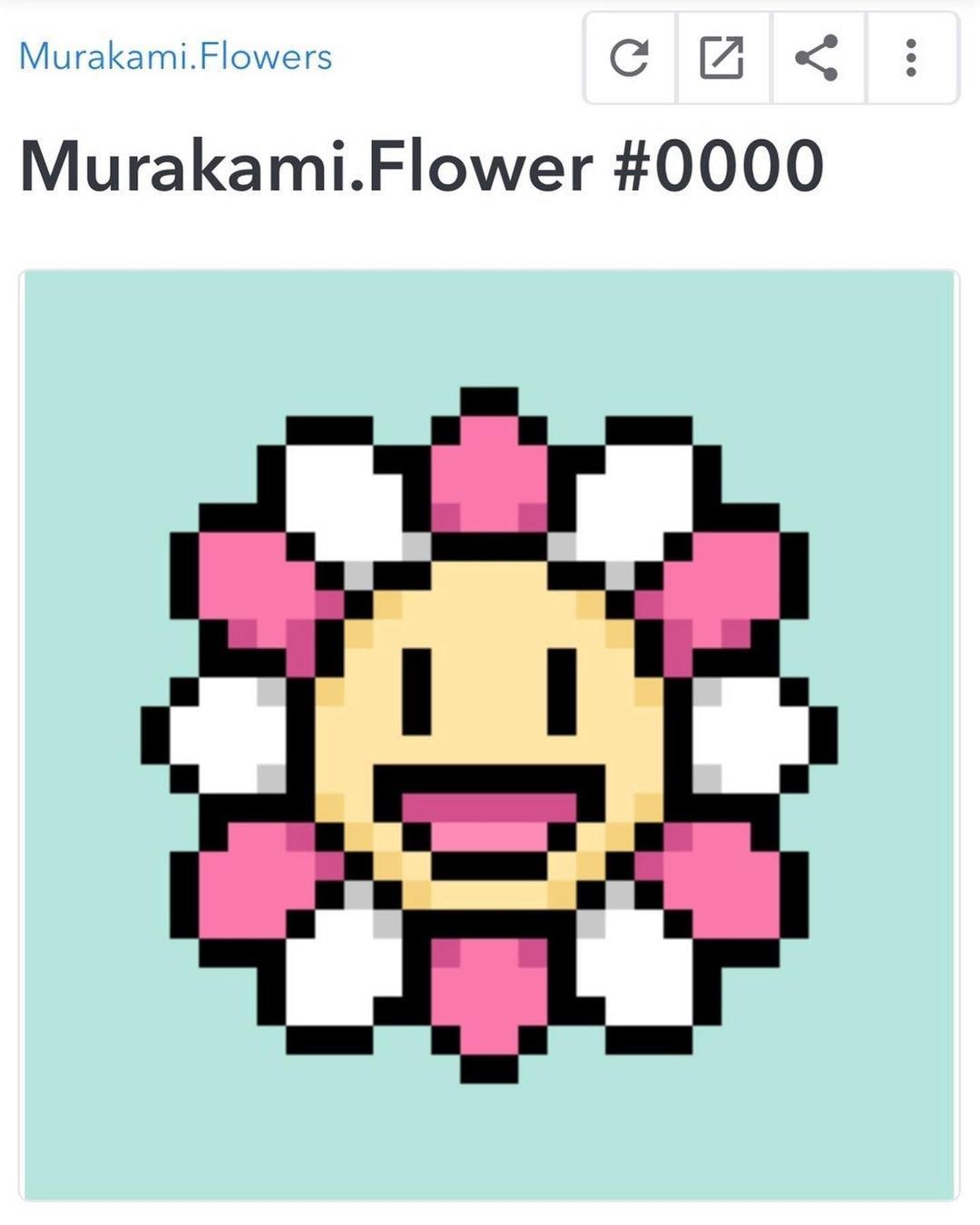 nft تاکاشی موراکامی