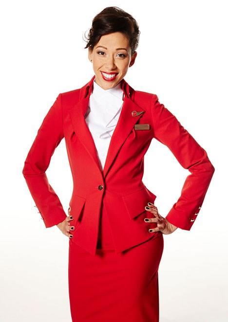 طراحی لباس مهمانداران هواپیما ویرجین آتلانتیک توسط ویوین وست وود