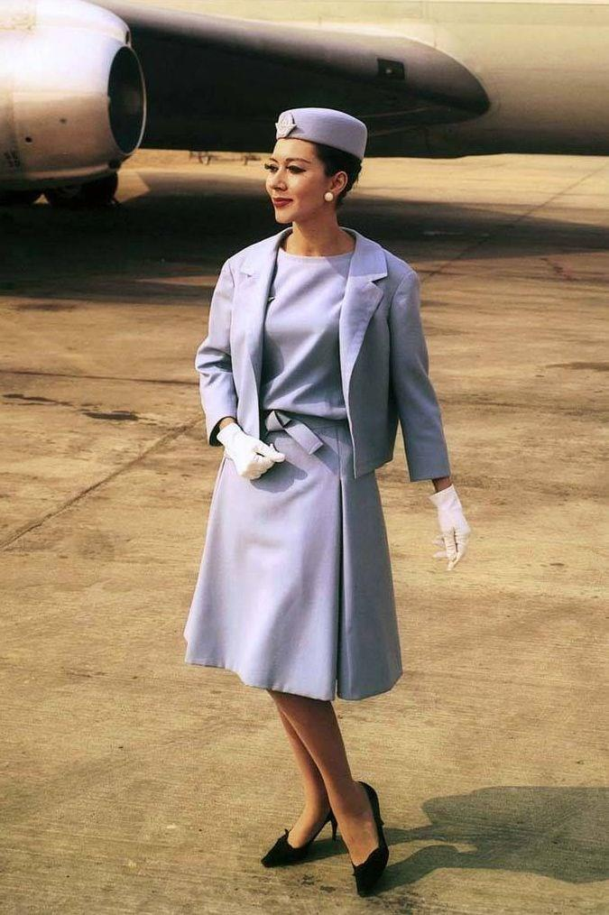 طراحی لباس مهمانداران هواپیما ایرفرانس توسط دیور