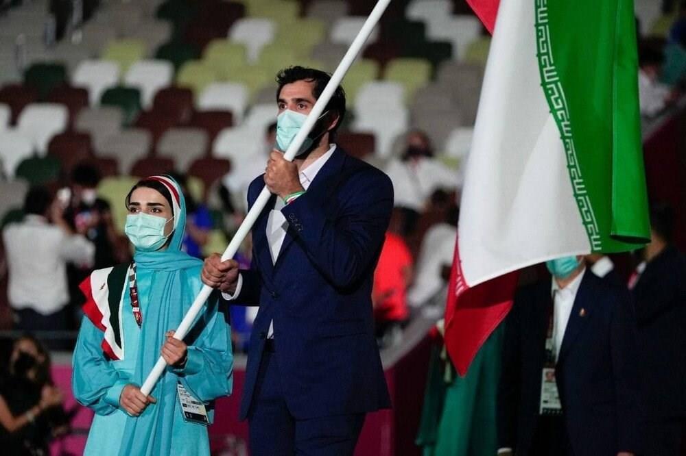 لباس تیم المپیک ایران در توکیو 2020