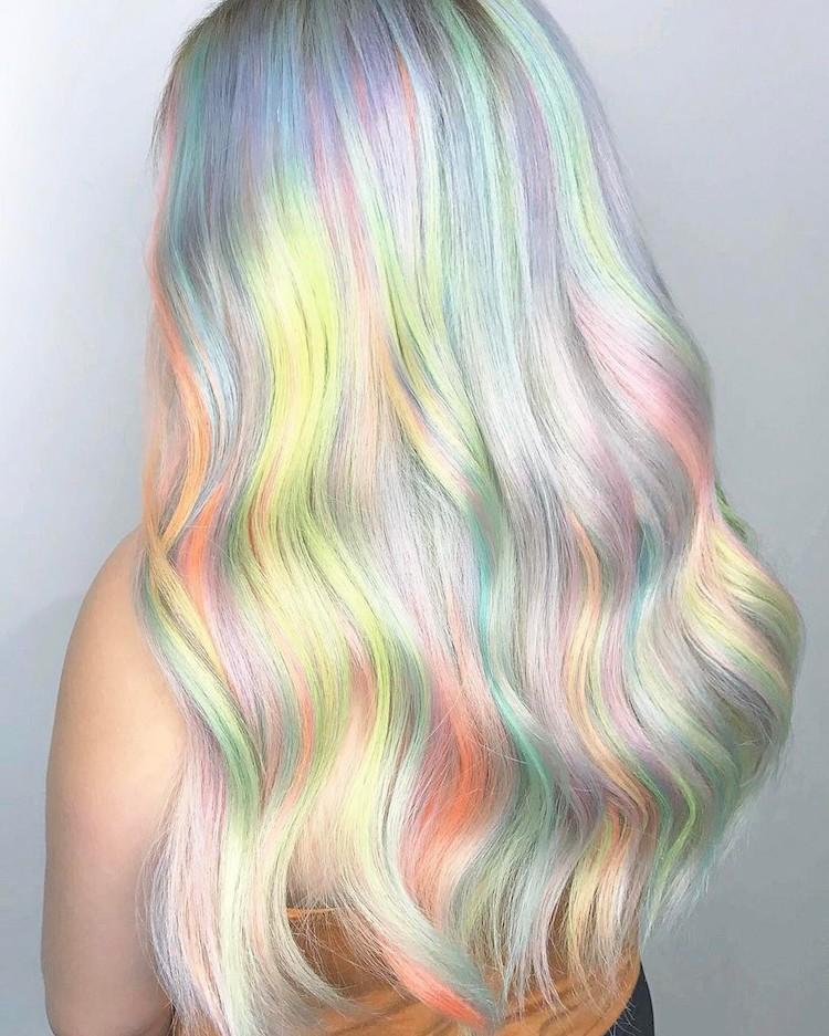 رنگ موی ژلاتینی