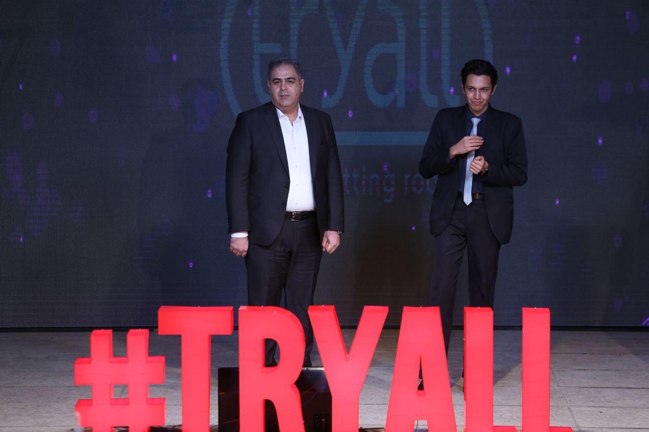 مراسم رونمایی «ترایآل»، اولین اتاق پرو آنلاین لباس